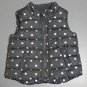 Fleece Lined Puffer Vest